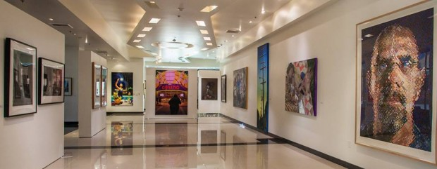 William Rolland Gallery interior