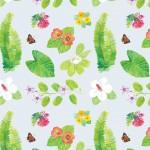 Nicole Ishii, Native Hawaiian Floral Pattern RFS